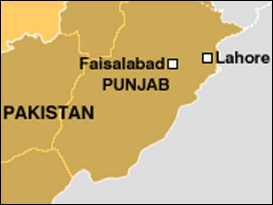 فیصل آباد میں مسافر بس گرنے سے متعدد مسافر زخمی