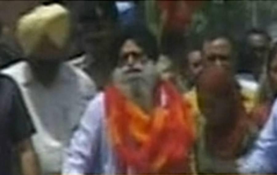سرجیت سنگھ پاکستان سے رہاہوکر بھارت پہنچ گیا