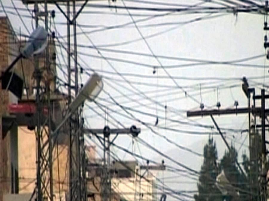 بجلی کا شارٹ فال 4117میگاواٹ پر برقرار
