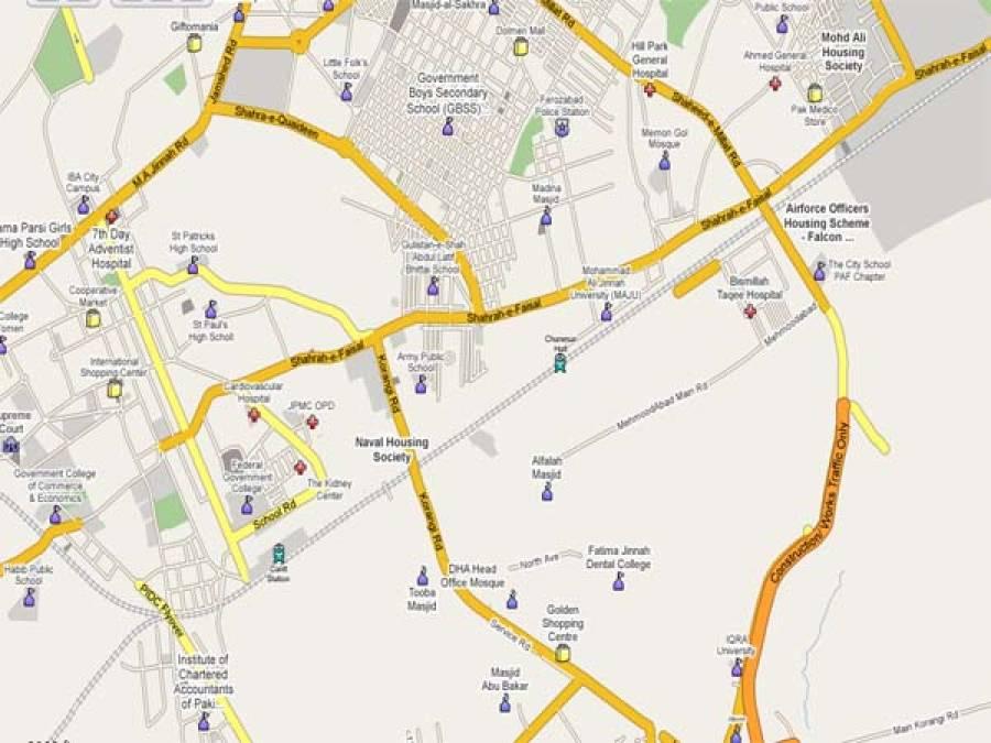 """کراچی کے علاقے علی گوٹھ میں پولیس نے علی الصبح تین افرادمبینہ مقابلے میں """"پار """"کردیئے"""