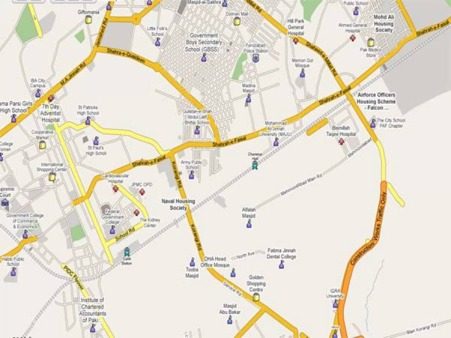 کراچی میں دستی بم سے حملہ ،پانچ افرادزخمی