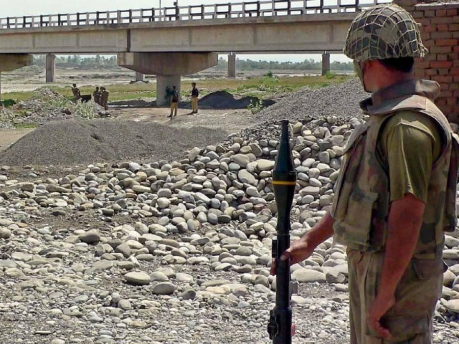 سرحد پار شدت پسندوں کی فائرنگ سے دو جوان زخمی : عسکری ذرائع