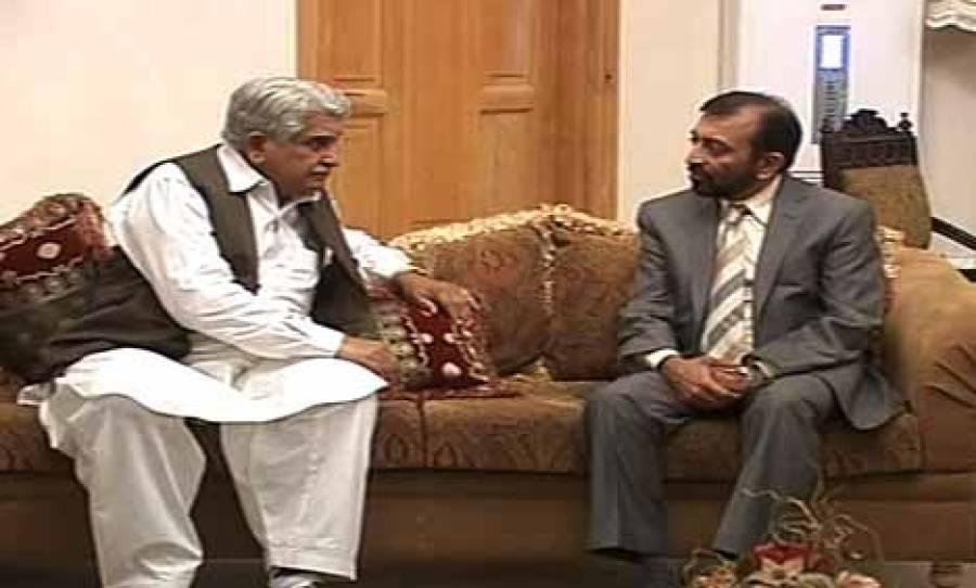 ایم کیو ایم اور اے این پی کے رہنماﺅں کے درمیان ملاقات ، کراچی میں امن کے لیے بلا امتیاز کارروائی پراتفاق