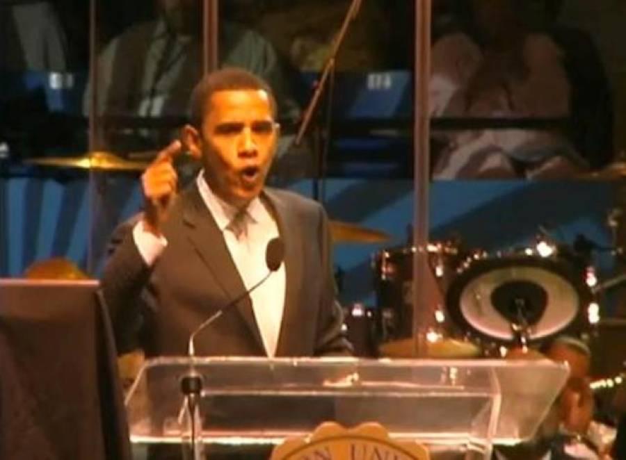 اوباما کی متنازعہ ویڈیو منظرعام پر آگئی