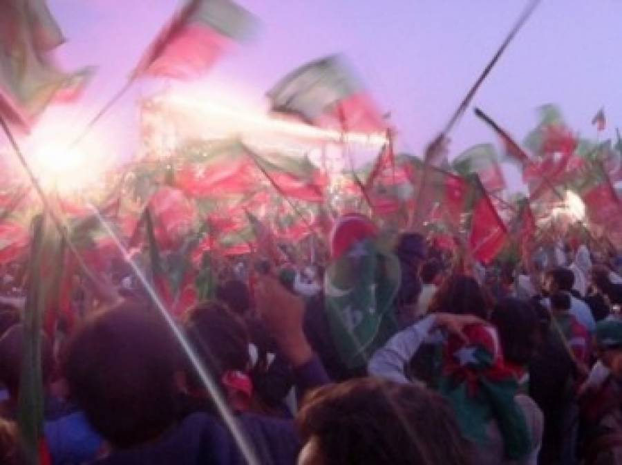 تحریکِ انصاف کی امن ریلی ،عمران خان کا'جنت 'کی جانب پہلا سفر ۔۔؟؟؟