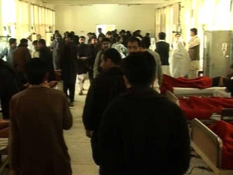 ڈیرہ اسماعیل خان میں ماتمی جلوس میں دھماکہ، سات افراد جاں بحق،100سے زائدزخمی