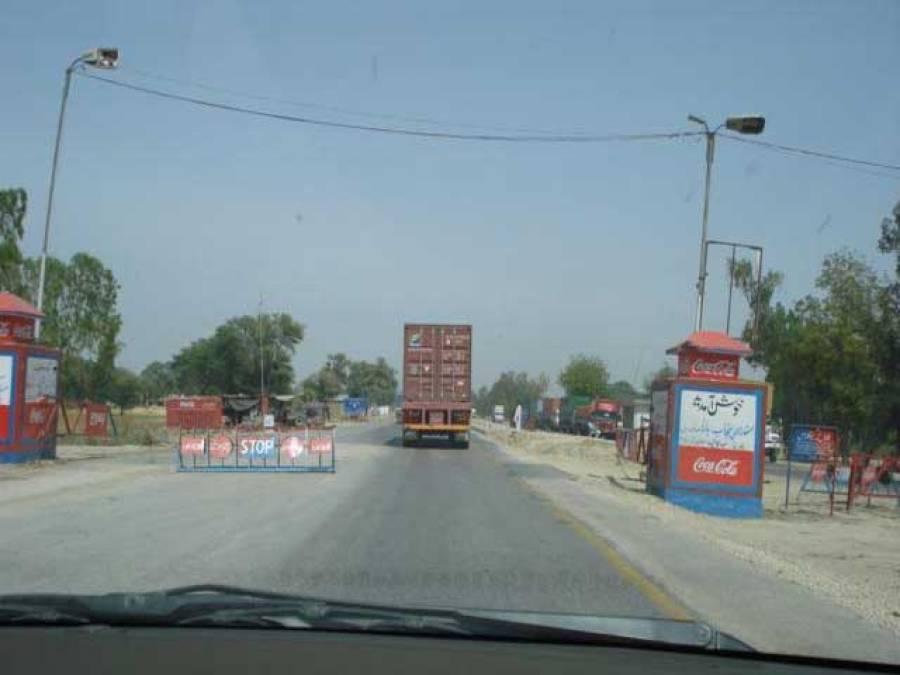 سندھ پنجاب بارڈر پر چھاپہ ، کراچی جانیوالا اسلحے سے بھرا ٹرک پکڑاگیا