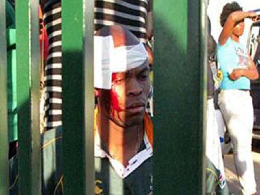 جنوبی افریقہ میں فوجی طیارہ گرنے سے 11افراد جاں بحق