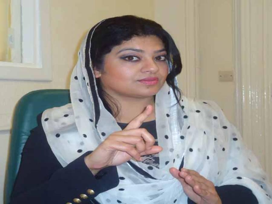 سیاستدا ن پاکستان کے خطرناک دور میں ہوش کے ناخن لیں : بیرسٹرشازیہ انجم