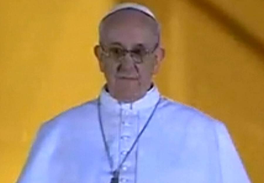 جارج ماریو برگوگلیو عیسائیوں کے نئے پوپ منتخب