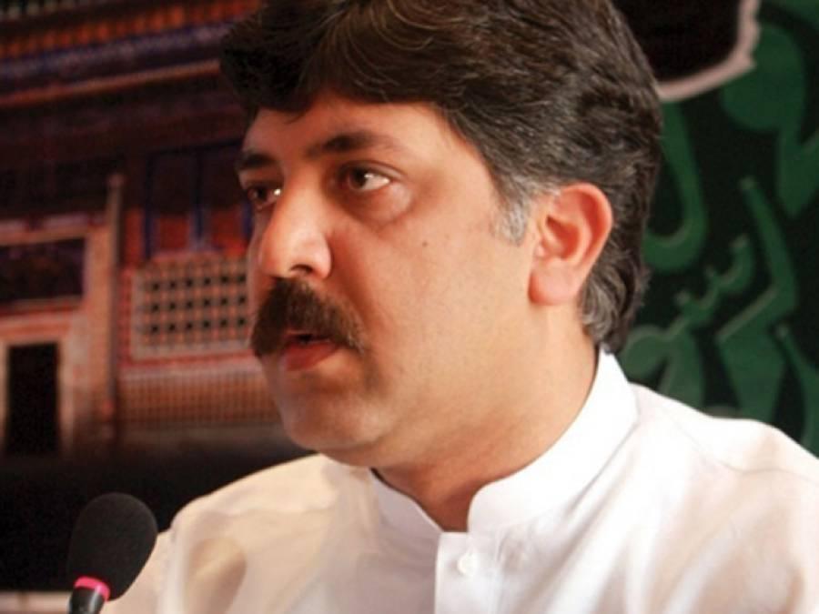 وزیرمملکت شیخ وقاص اکرم بھی گئے ۔ ۔ ۔