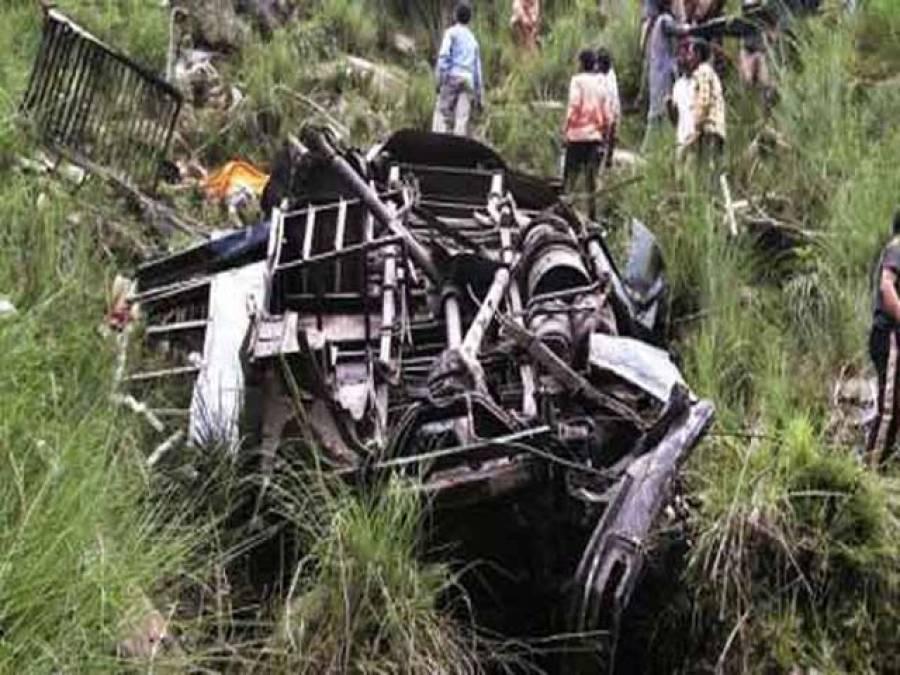 بھارت میں گاڑی نالے میں گرنے سے 12 کھلاڑی ہلاک ہوگئے