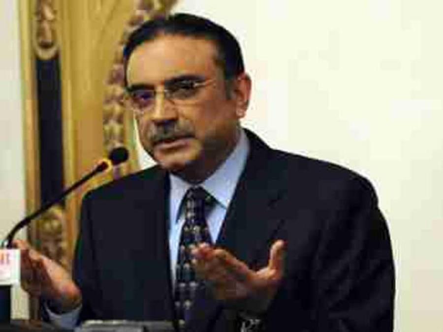 صدر آصف زرداری نے قبائلی عمائدین کے مطالبات منظور کر لئے