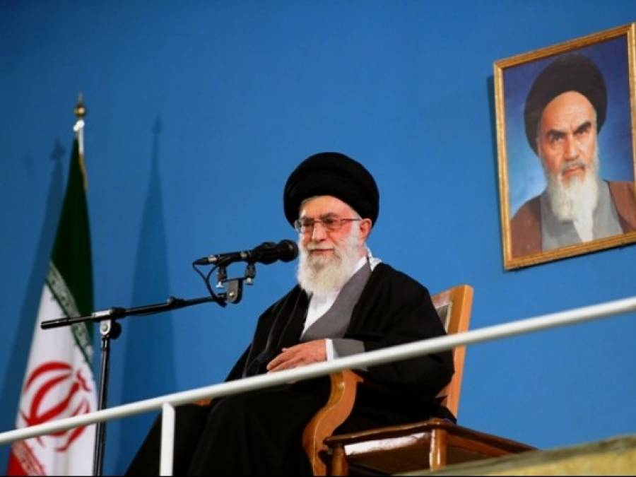 امریکہ نے دہشت گردی کے خلاف دوہری پالیسی اپنائی ہے: آیت اللہ علی خامنہ ای