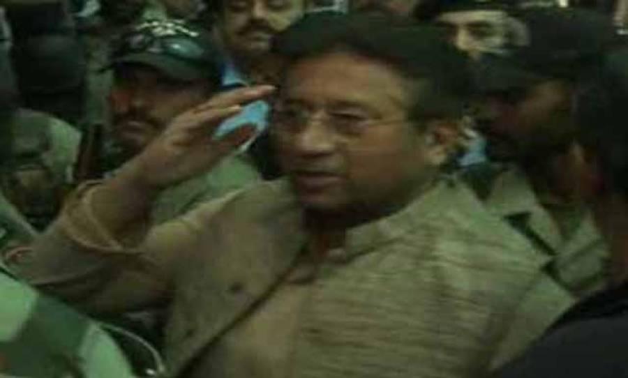 جب منصف تھے زنداں میں ،کچھ یاد تو آتا ہو گا ۔ ۔ سابق فوجی صدر پرویز مشرف کو جیل بھیج دیاگیا