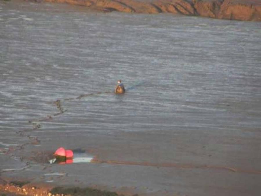 دریائے جہلم میں ڈوبنے والے چارافراد کی لاشیں نکال لی گئیں ، دیگر کی تلاش