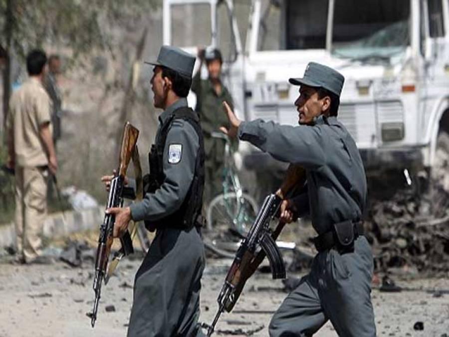 افغان صوبہ لوگر میں طالبان کا بم دھماکہ ، آٹھ پولیس اہلکار جاں بحق