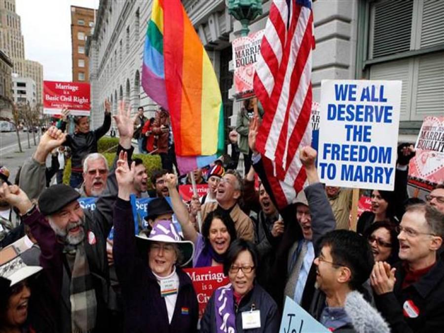 """امریکی ہم جنس پرستوں کی عدالت نے"""" سن"""" لی ، ساتھیوں کے بھنگڑے"""