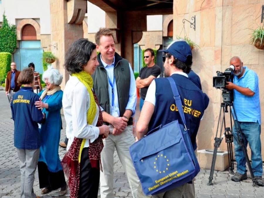 """میڈیا نے"""" غلطی"""" کی، 2013ءکے عام انتخابات اچھے تھے: یورپی یونین مبصر مشن"""