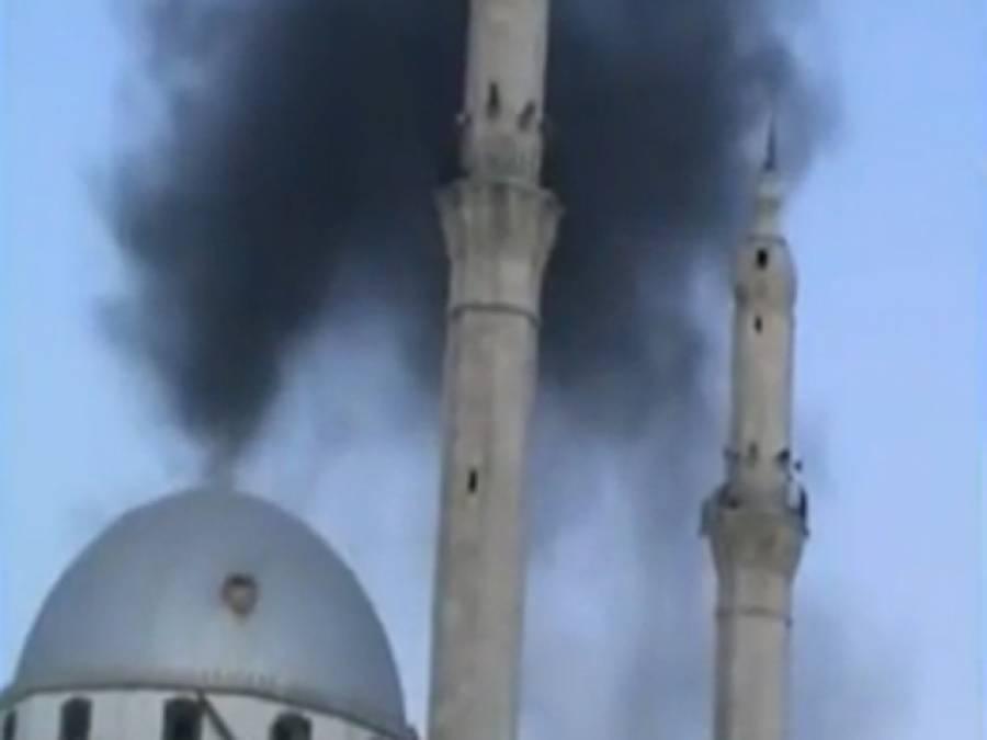 شا می فوج کی بمباری، صحابی رسول ﷺ حضرت خالد بن ولید ؓ کا مزار شہید