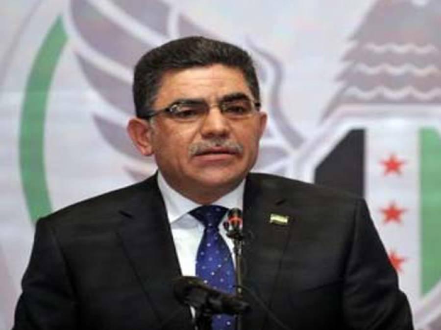 شام کی اپوزیشن نے احمد طومے کو عبوری وزیراعظم منتخب کرلیا