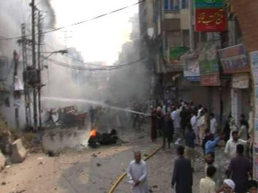 پشاور دھماکے اور وزیرستان میں ڈرون حملے ایک ہی سلسلے کی کڑی ہیں : جمعیت اہل حدیث پاکستان