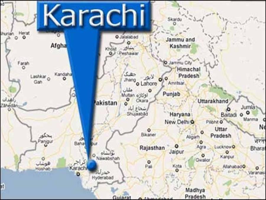 کراچی میں بنک ڈکیتی ، مزاحمت پر غریب گارڈماراگیا، دونوں ڈاکوبھی ہلاک