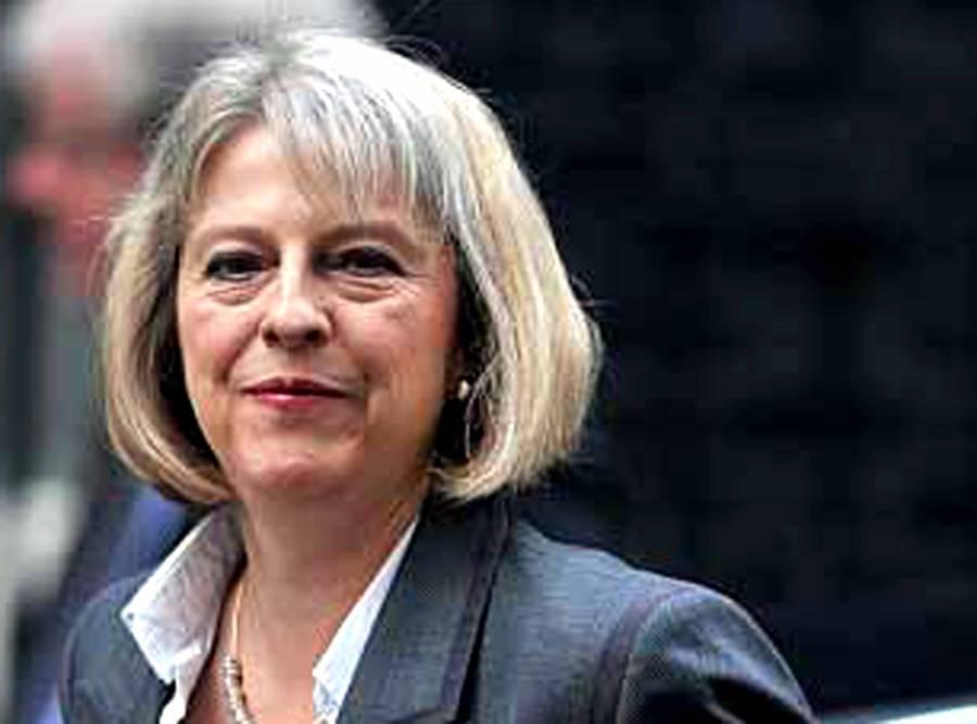 غیر قانونی مہاجروں کو کسی صورت برطانیہ میں قیام نہیں کرنے دینگے ' برطانوی وزیر خارجہ تھریسا مئے