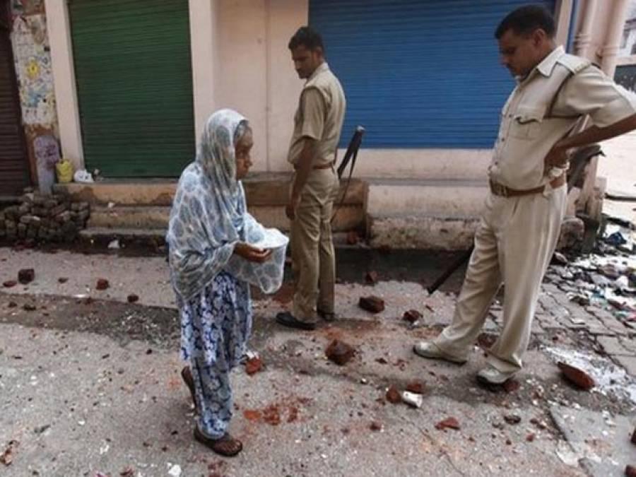 بھارتی ریاست اتر پردیش میں مسلم کش فسادات میں تین مسلمان شہید