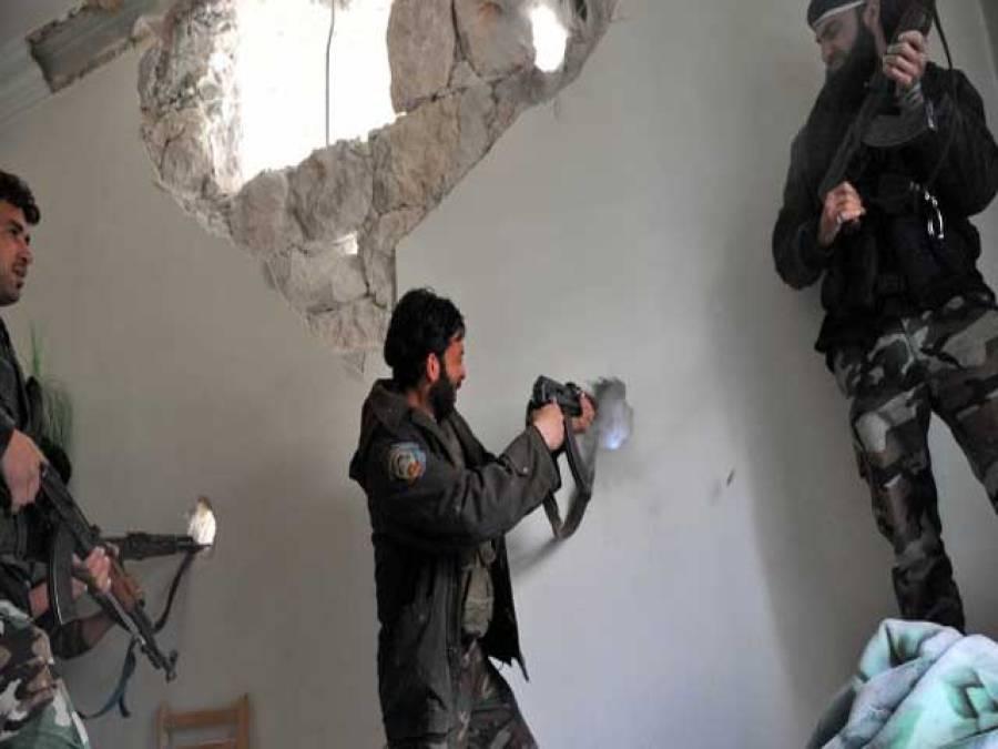 شام کے کیمیائی ہتھیار تلف