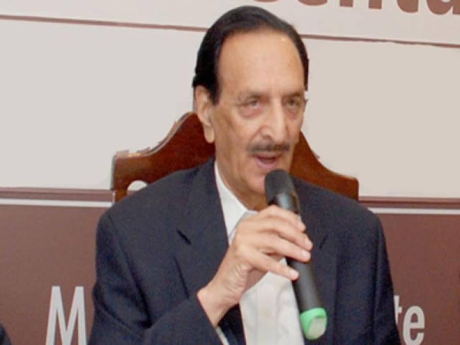 بھارت پاکستان پر قبضہ چاہتاہے: راجہ ظفرالحق، آزادکشمیر دوسرا'بلوچستان' بن سکتاہے: فاروق حیدر