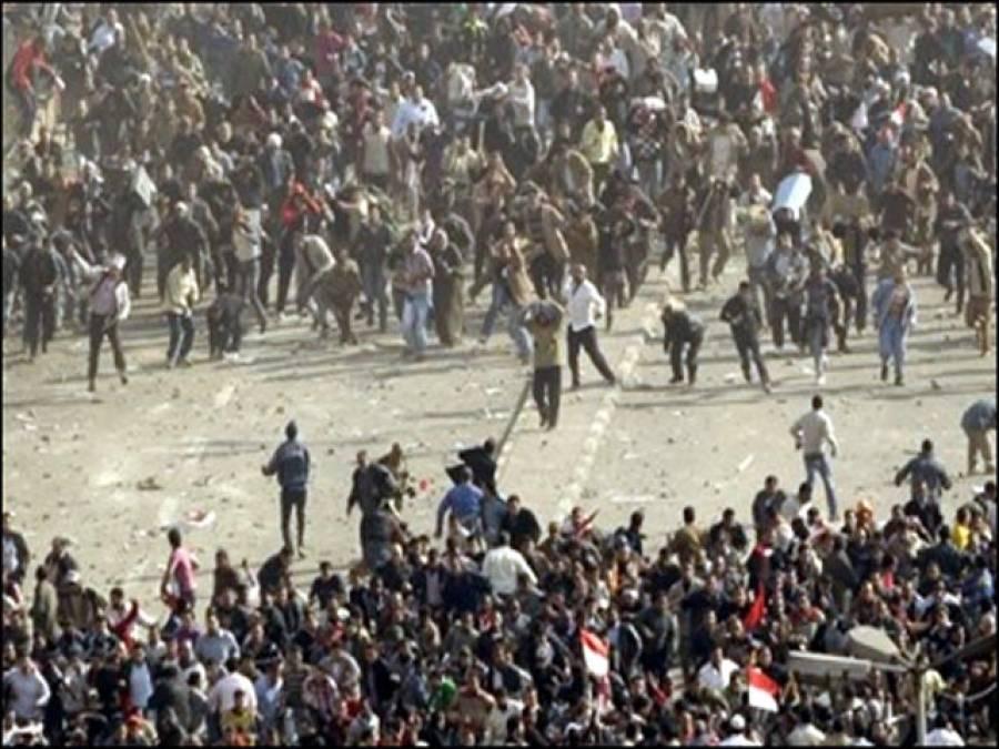 نئے آئینی مسودہ کیخلاف احتجاج ، مصر کا التحریرسکوائر پھر میدان جنگ بن گیا