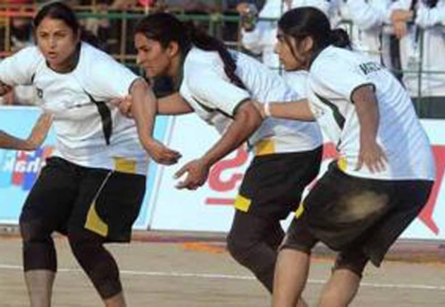 ویمن کبڈی ورلڈکپ : سیمی فائنل میں پاکستان کو بھارت سے شکست