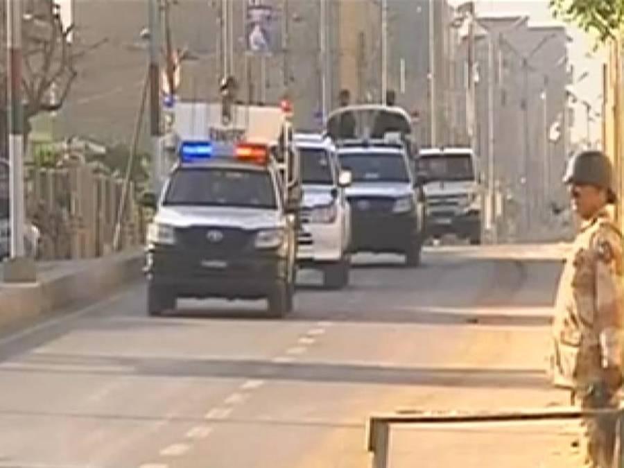 کراچی میں رینجرز کا ٹارگٹڈآپریشن ،گینگ وار کے ملزمان سمیت37مشتبہ افرادگرفتار