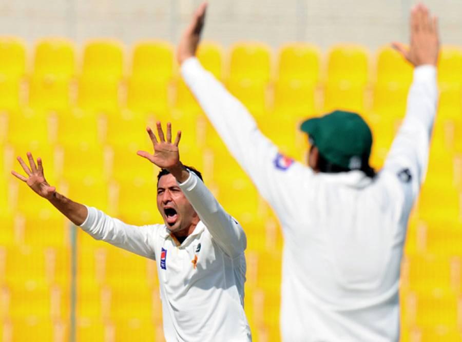 پہلا ٹیسٹ: سری لنکا کے دوسری اننگز میں 5 وکٹوں کے نقصان پر 355 رنز ، پاکستان کے خلاف 176 رنز کی برتری