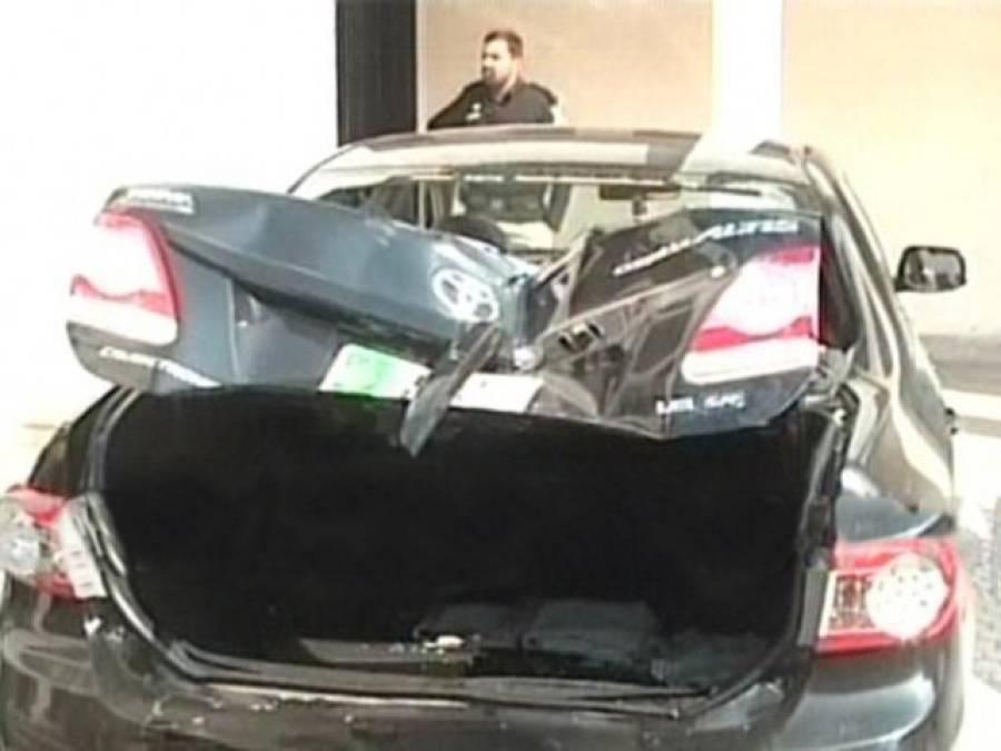قاسم ضیاکی بیٹی کی پولیس اہلکار کو گاڑی کی ٹکر،مقدمہ درج