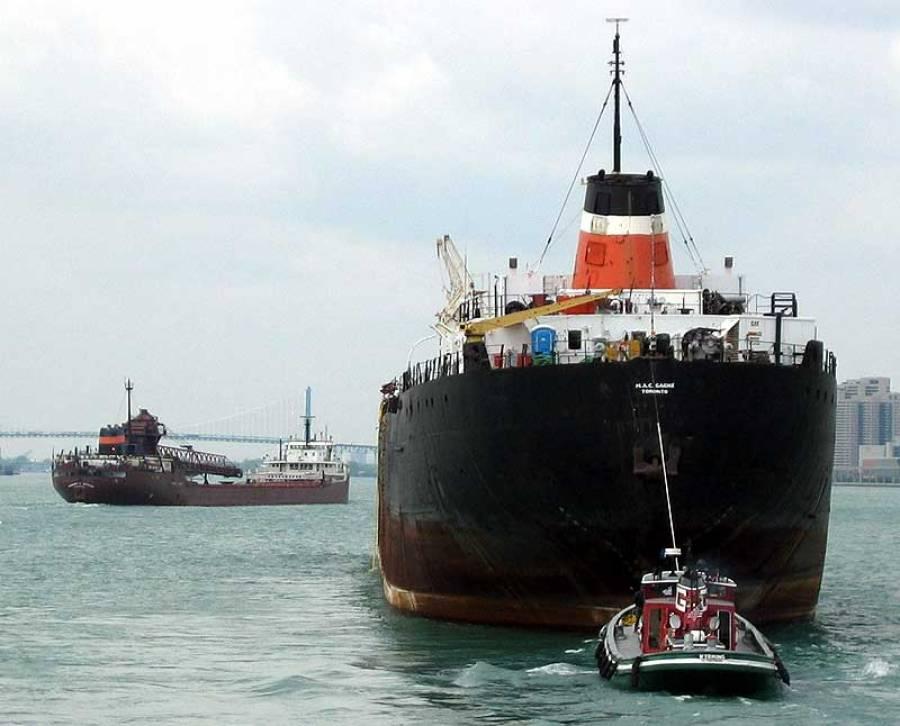 امریکی بحری جہاز کی تقریب رونمائی منعقد