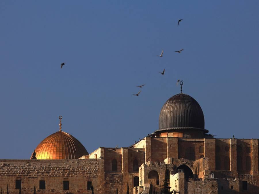 اسرائیل نے مسجد اقصیٰ میں مسلمانوں کے داخلے پر پابندی لگادی