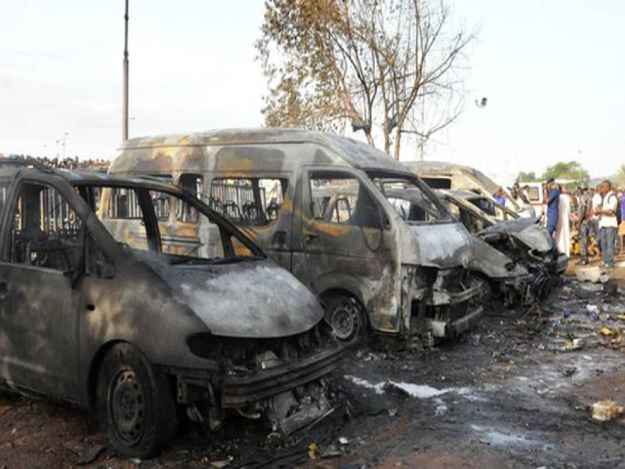 نائیجیریا کے دارلحکومت میں بس اڈے پر دھماکے ، 70افراد جاں بحق