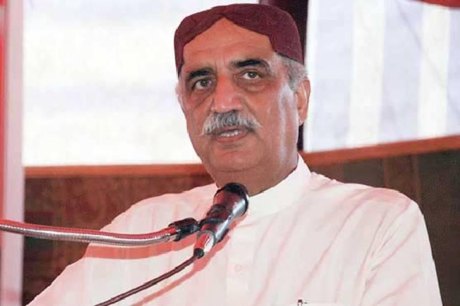 عمران خان 11 مئی کے احتجاج کیلئے ہم سے رابطہ نہیں کرینگے:خورشید شاہ