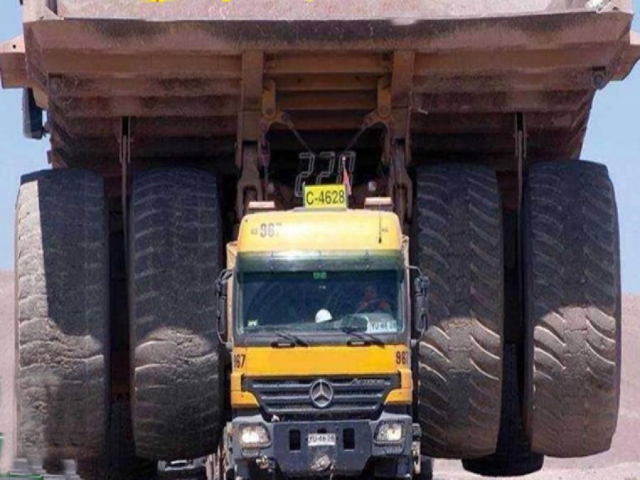 دنیا کا طاقتور ترین ٹرک
