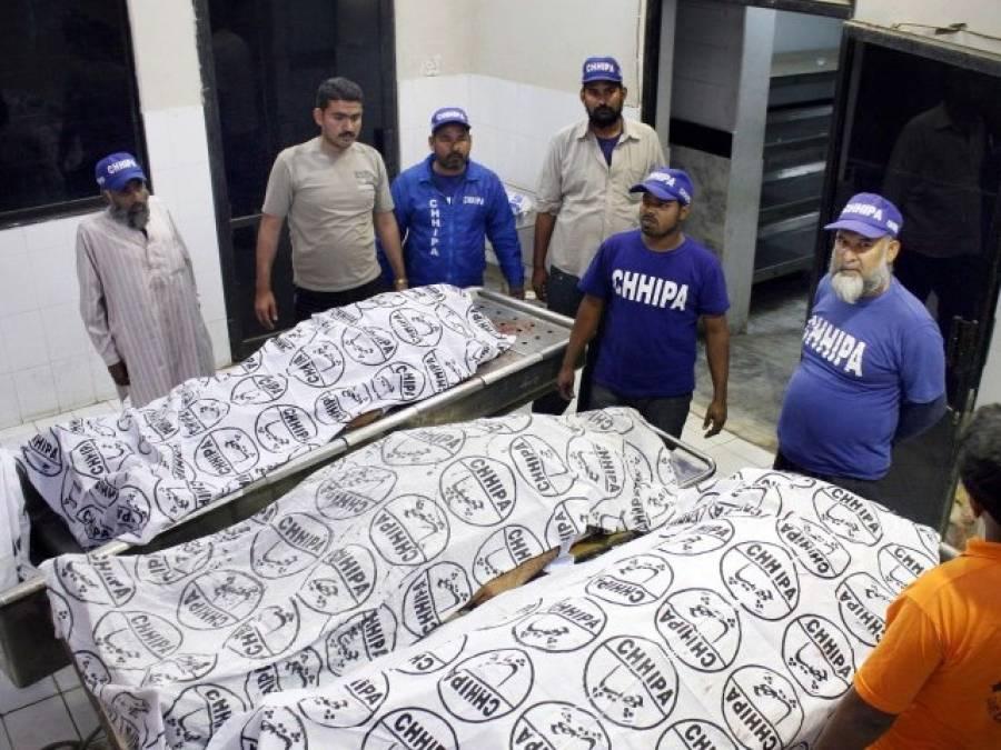 شہر قائد میں قتل و غارت کا سلسلہ رک نہ سکا،مختلف واقعات میں خواتین سمیت 7افراد جاں بحق