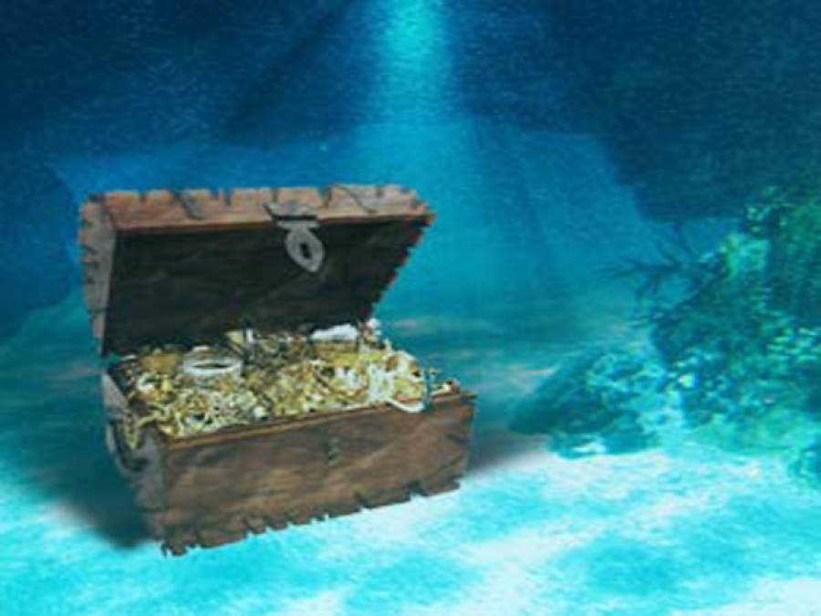 ڈوبے ہوئے جہاز سے خزانہ برآمد