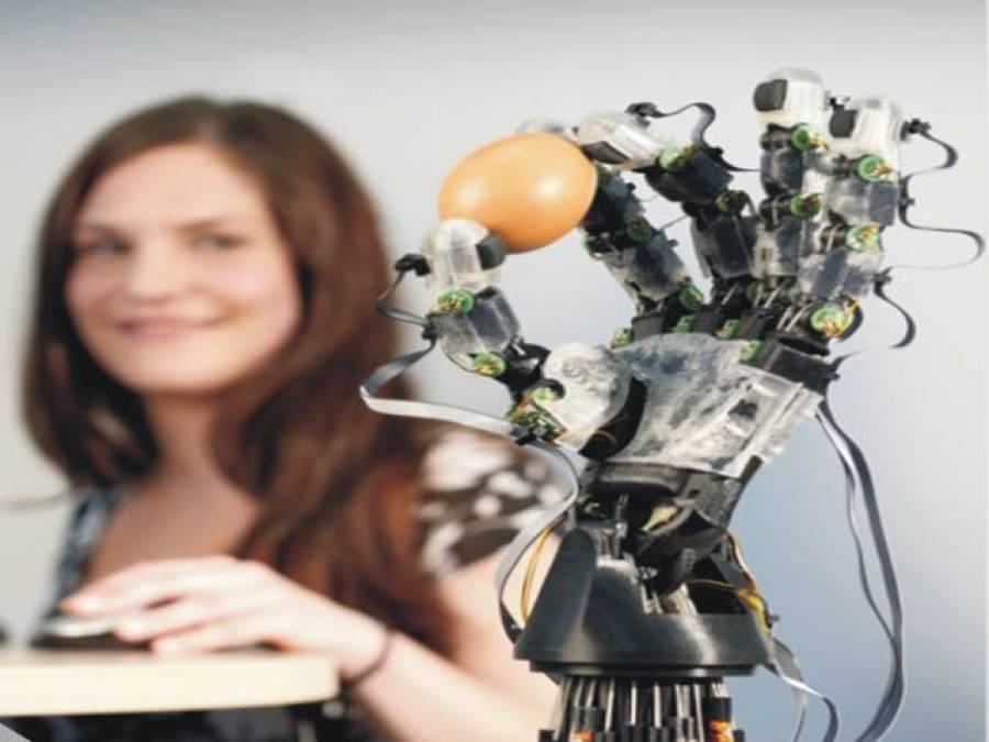 امریکی ماہرین کا کارنامہ، دماغ سے کنٹرو ل ہونے والا مشینی ہاتھ تیار