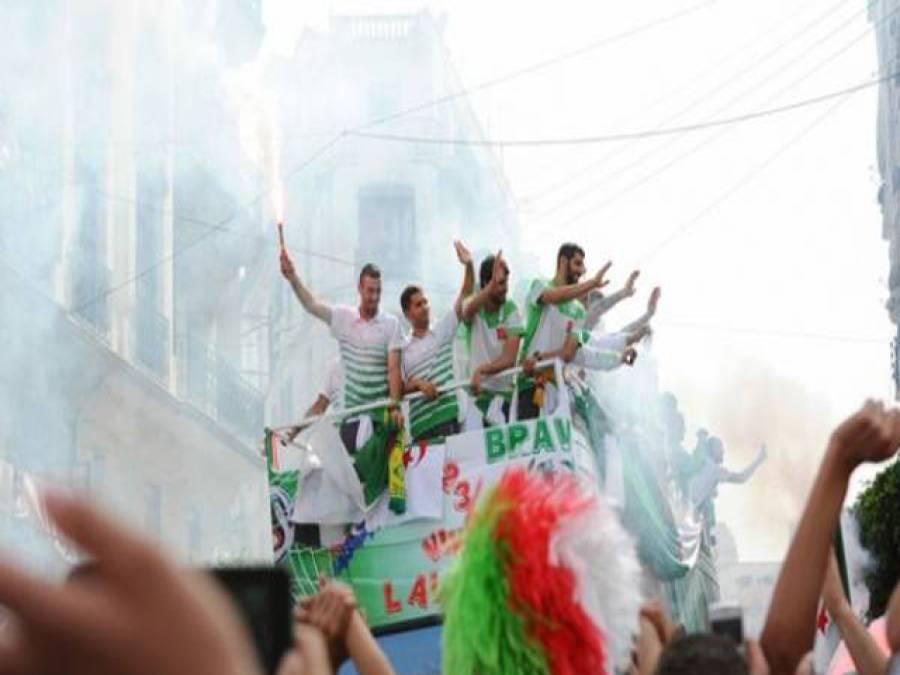 الجزائر فٹبال ٹیم نے ورلڈ کپ سے حاصل رقم محصورین غزہ کیلئے عطیہ کر دی