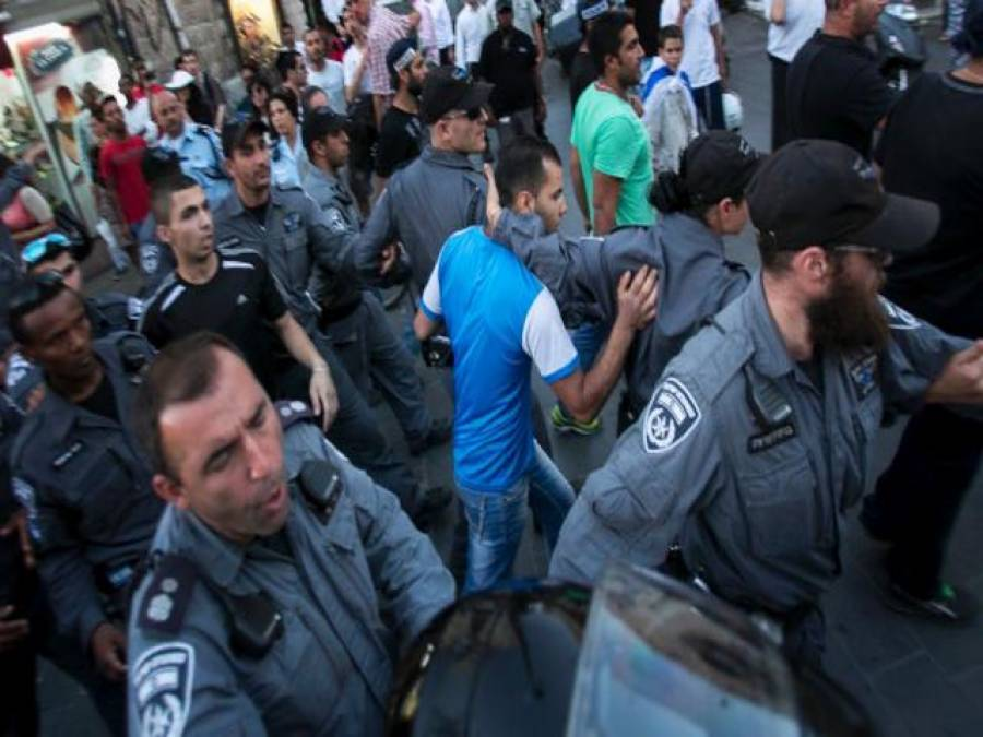 یہودی انتہا پسندوں نے فلسطینیوں پر دھاوا بول دیا