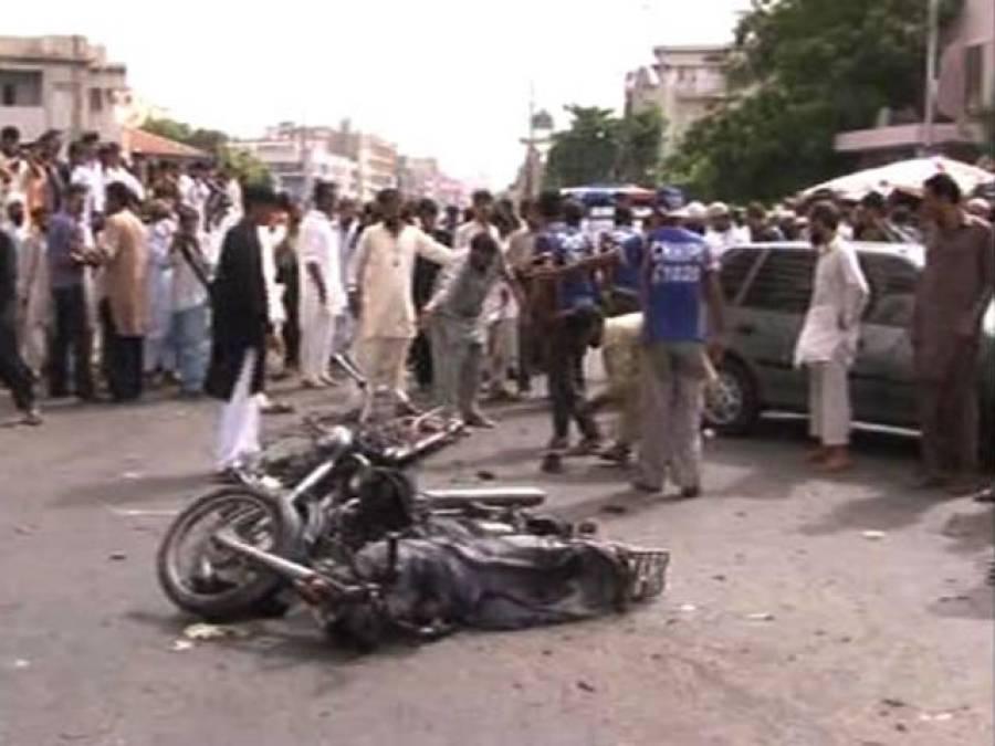 صدر پارکنگ پلازہ دھماکہ، دونوں ملزمان کی شناخت ہو گئی