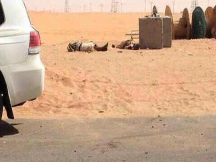 سعودی عرب میں خودکش حملے کی کوشش ناکام ، تین حملہ آور مقابلے میں ہلاک ، ایک گرفتار