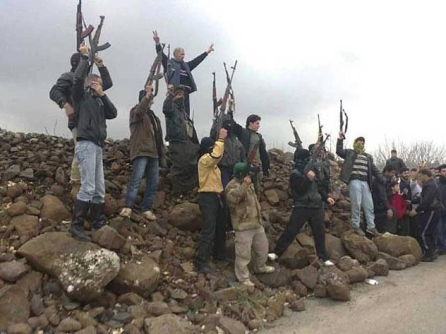برطانیہ کے شامی باغیوں کیلئے تربیتی منصوبے کا انکشاف