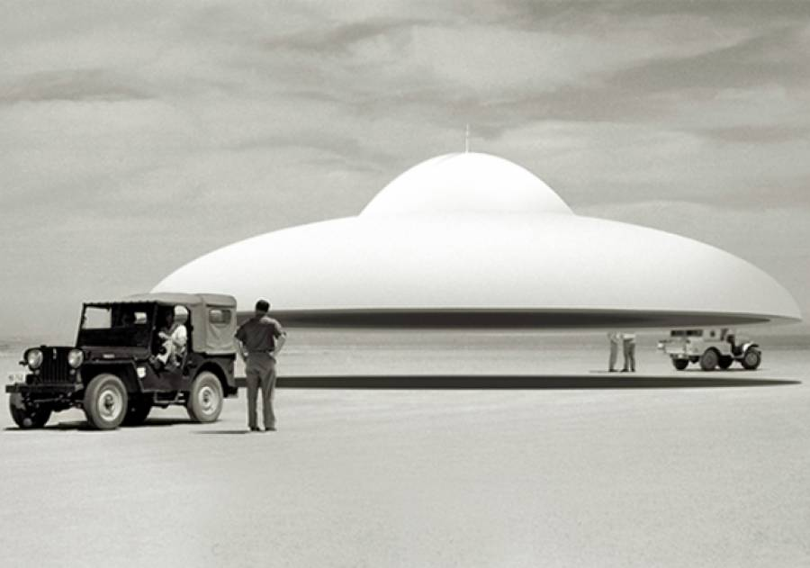 50ء کی دہائی میں آپ نے جو اڑن طشتری دیکھی ،وہ ہم تھے:سی آئی اے